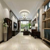 上河湾110㎡中式风格装修