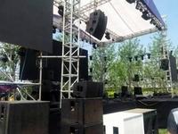 北京户外舞台音响场景搭建北京舞台灯光音响出租租赁
