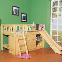 松木儿童环保家具(样图)
