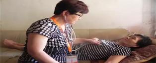 为失能、半失能老人提供免费居家康复护理