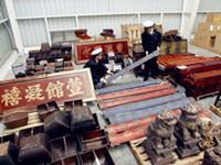上海古董家具报关公司|家具清关