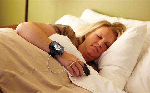 整夜血氧监测