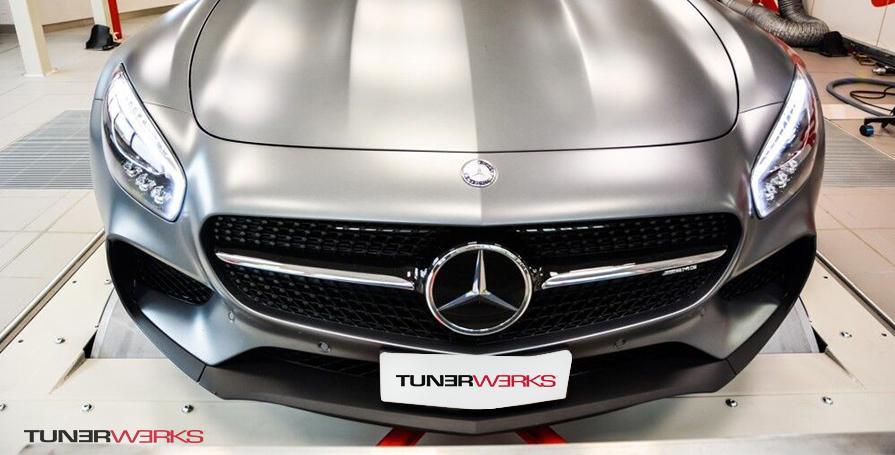 Mercedes AMG Dyno Tuning