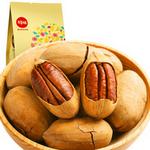 百草味 坚果零食 碧根果190g/袋 奶香味长寿果 零食小吃