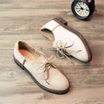 春秋新款布洛克女鞋