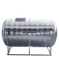 圆形卧式保温水箱