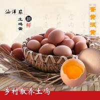 汕洋农正宗散养新鲜土鸡蛋绿色食品草鸡蛋