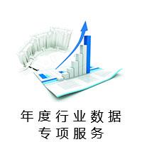 年度行业数据专项服务