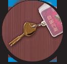 超C级叶片锁芯