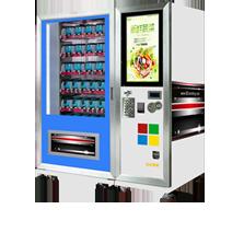 VM023专业定制 盒饭自动售货机 果蔬自助售卖机 自动售货机批发直销