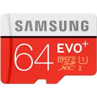 三星(SAMSUNG)64GB UHS-1 Class10 TF(Micro SD)存储卡(读速80Mb/s)升级版