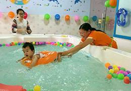 婴儿游泳区,日金斗金
