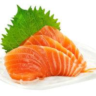 品鲜猫 大西洋冰鲜三文鱼 500g 刺身中段 海鲜生鱼片