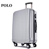 POLO拉杆箱万向轮行李箱 PC材质旅行