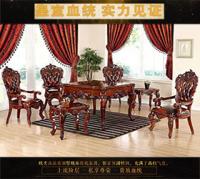 皇家贵族实木外框高端四口自动麻将机