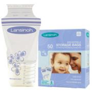 美国 Lansinoh 母乳保鲜储存袋(50片装)原装进口
