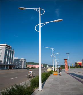 市电双头LED路灯