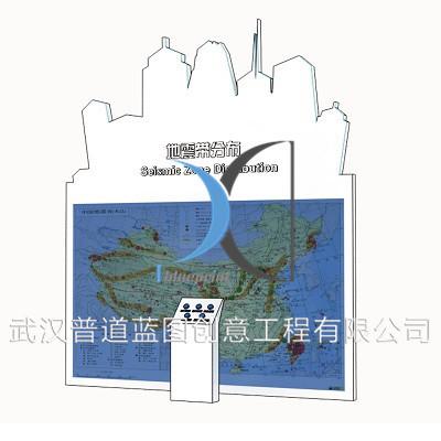 中国地震带分布