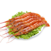 禧美海产 进口冰冻阿根廷红虾 L1规格 20-40只 2kg 自营海鲜