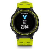 佳明(GARMIN)Forerunner 225 gps光学户外心率测量腕表男士跑步手表黑绿