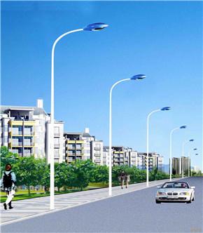 市电单头LED路灯