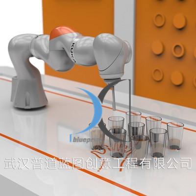 七轴互动机械臂