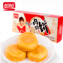 盼盼肉松饼原味盒装 传统糕点早餐零食小吃