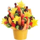 爱蒂宝 热带风情脆巧草莓 鲜果花篮水果花
