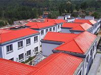 山东——70栋住房树脂瓦平改坡工程