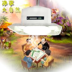 棋牌室专用吊顶式空气净化器