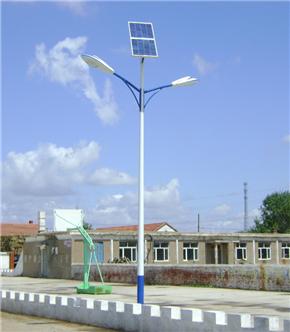 双头LED太阳能路灯