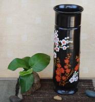 新品手工黑陶梅花瓶商务礼品客厅办公室现代