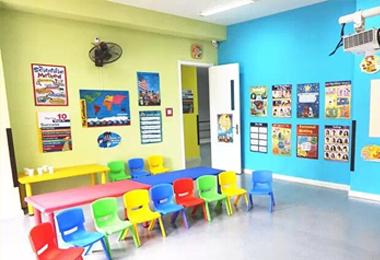 教室实景展示