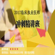 2017临床执业医师冲刺精讲班-新东方在线