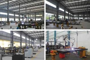 Robot welding workshop