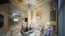 复式-平方复式 欧式风格 20W半包,大跃层,豪宅范!