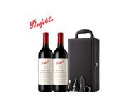 澳洲原瓶进口红酒 奔富389/BIN389干红葡萄酒 750ml*2瓶 双支装