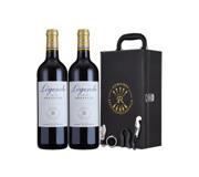 法国进口红酒 拉菲传奇波尔多干红葡萄酒 双支礼盒装