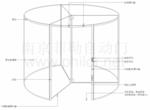 三翼水晶旋转门结构说明