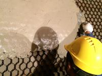 耐磨陶瓷涂料现场施工
