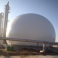 青岛超威特环保3000立方双膜气柜  沼气气柜