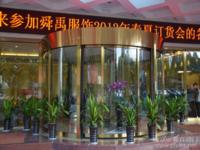 南京虹桥大饭店---三翼环柱自动旋转门