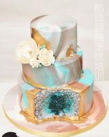 翻糖水晶蛋糕 (1)