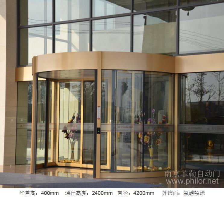 鑫皇国际酒店 --- 豪华两翼自动旋转门