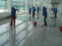 昌北机场开荒保洁