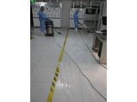 晶能光电无尘车间地面护理