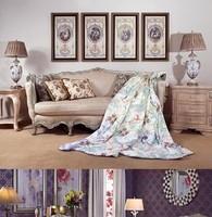 蓝星欧式客厅家居 三件套沙发 转椅全部八