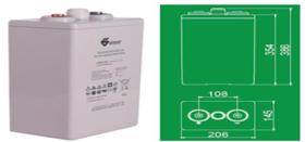 双登OPzV电池(200AH-3000AH)