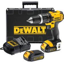得伟(DEWALT)DCD735C2 14.4V锂电充电式冲击钻 2x1.5Ah电池套装