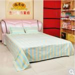 床上用品 纯棉 手工老粗布床单三件套